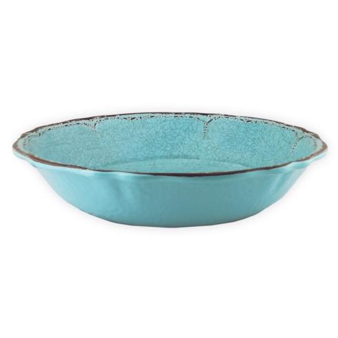 $35.00 Antiqua Tourquoise Salad Serving Bowl